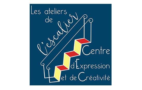 Les ateliers de l'escalier logo - Les Ateliers de l'escalier - Centre d'Expression et de Créativité à Soignies