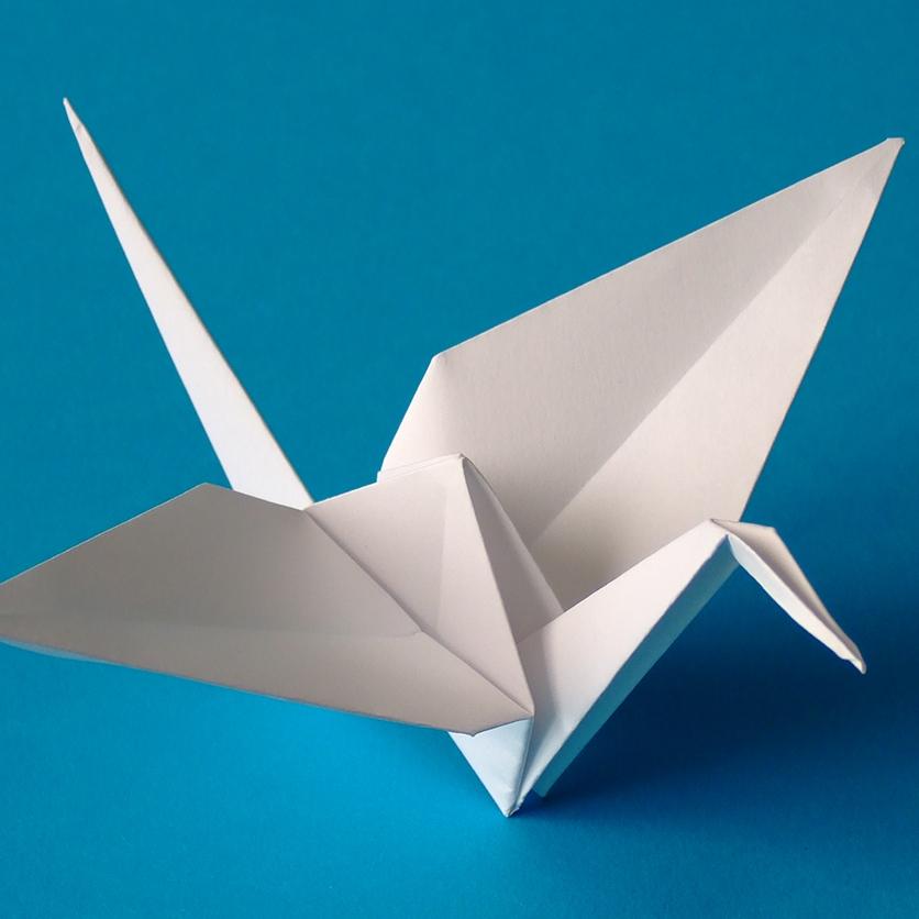 Stage d'été du 8 au 12 juillet 2019 : Papier japonais, tout un art - origami pour les petits, enfants de 3 à 5 ans, à Soignies