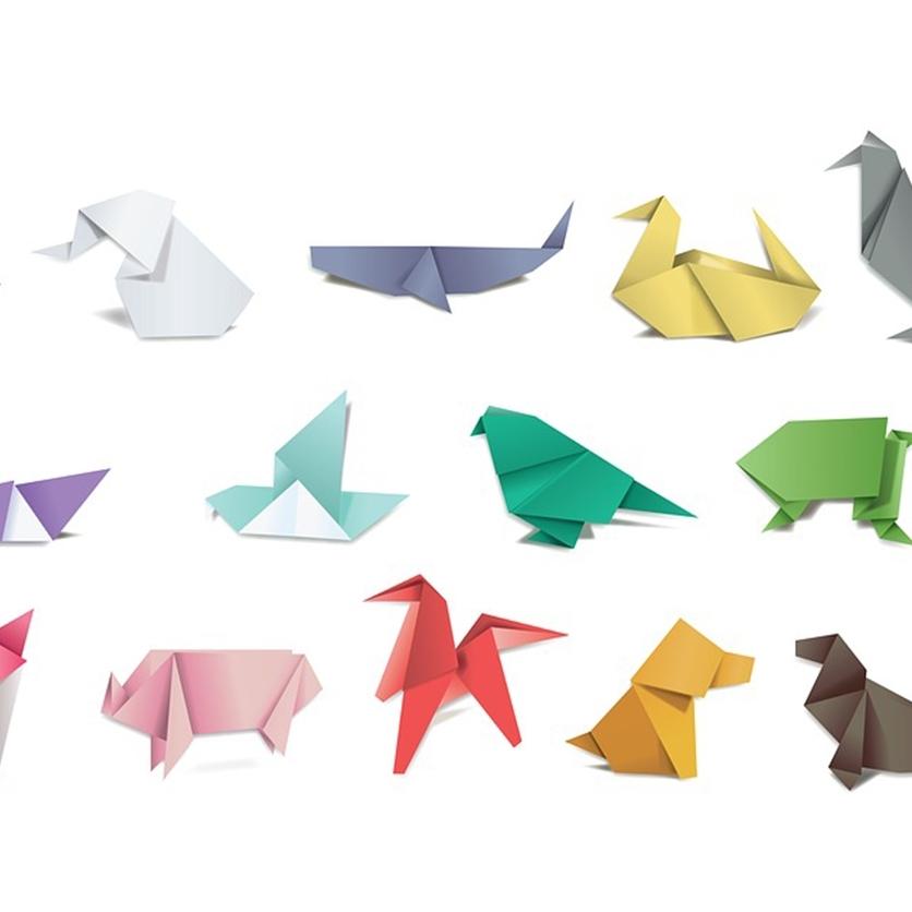 Stage d'été du 8 au 12 juillet 2019 : Papier japonais, tout un art - Crée ton propre parc animalier en Origami (pour les grands, de 9 à 13 ans)