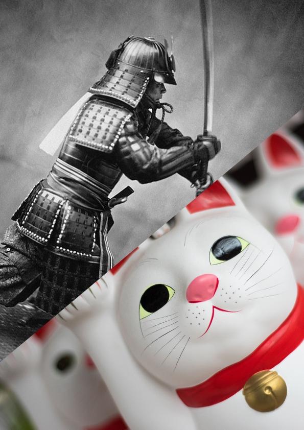 vacances de détente ou Carnaval, stages créatif sur les masques japonais aux Ateliers de l'escalier à Soignies