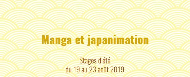 Stages créatifs durant l'été (mois août 2019). Manga dans tous les sens, dessins, impressions, collages et fresques géantes. à Soignies.